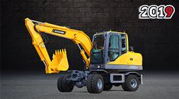 宝鼎BD80W小型轮式挖掘机:更强劲、更迅捷的选择
