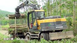 柳州宝鼎轮式95抓木机车型受热程度持续攀升