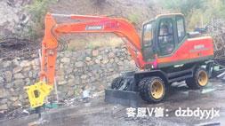 轮式小挖掘机河南市场