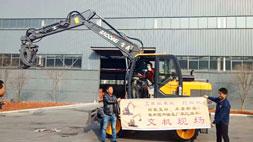 真正轮式挖掘机抓木机致富车型,你了解哪几款?