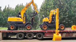 轮式挖掘机-比配置比价格,请问你比收益了吗?