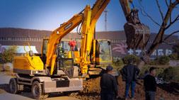 国产轮式挖掘机属于自己的核心技术