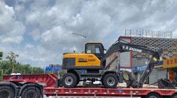 轮式挖掘机多功能与多工况的比拼