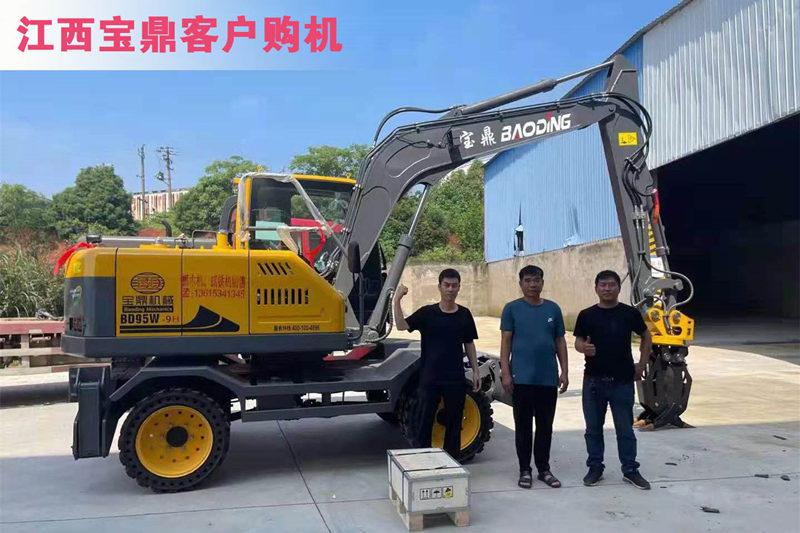 江西地区销售95轮式抓铁机型号