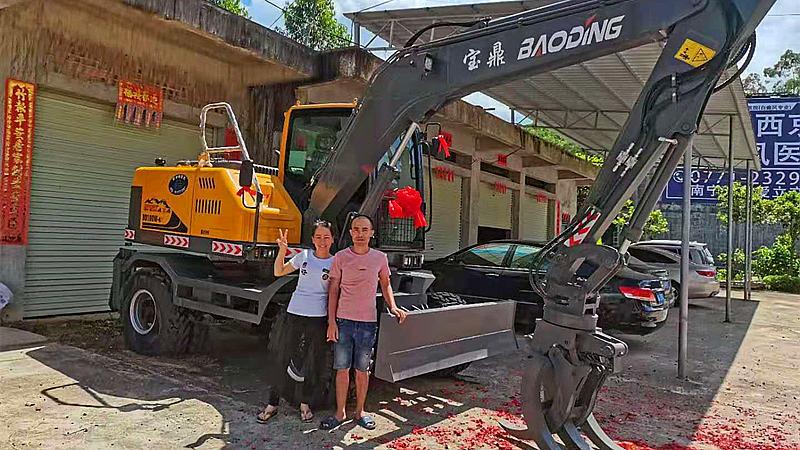 钦州抓木机销售宝鼎100抓木机型号