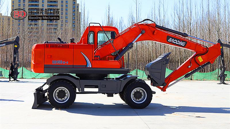 正式上市!宝鼎150轮式挖掘机型号,合适才是最好的