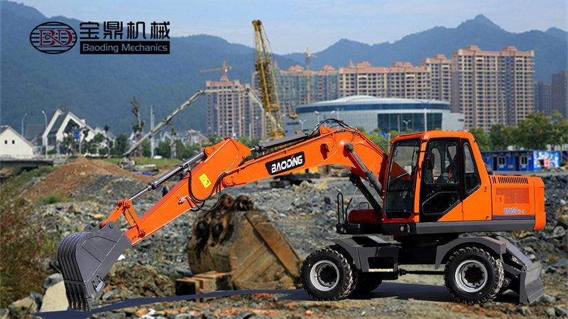 150轮胎挖掘机型号Compact Litronic:配置比肩进口150轮挖设备