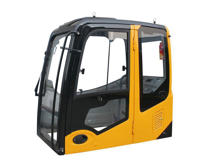 宝鼎小型挖掘机驾驶室部件