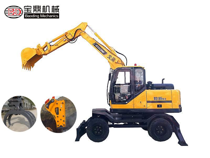 宝鼎轮式挖掘机BD95W-9型号