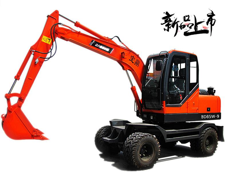 宝鼎BD85W-9轮式挖掘机