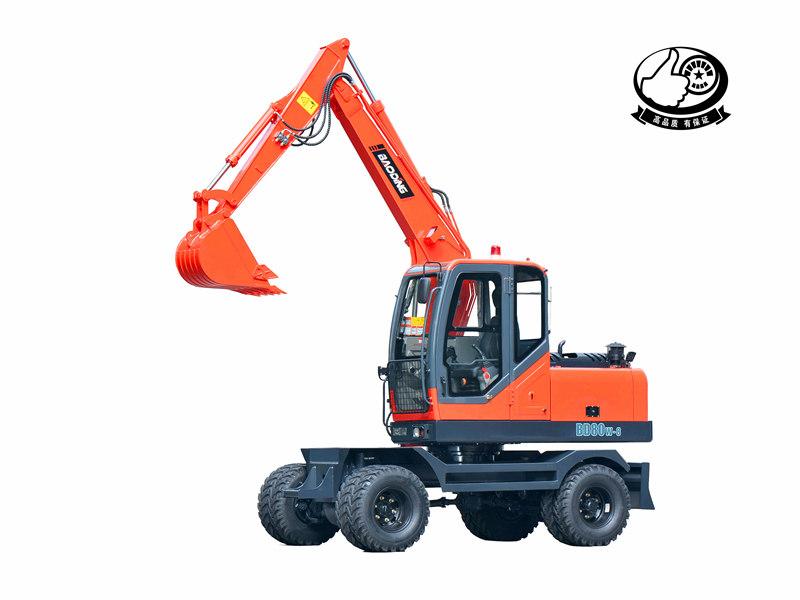 宝鼎BD80轮式挖掘机