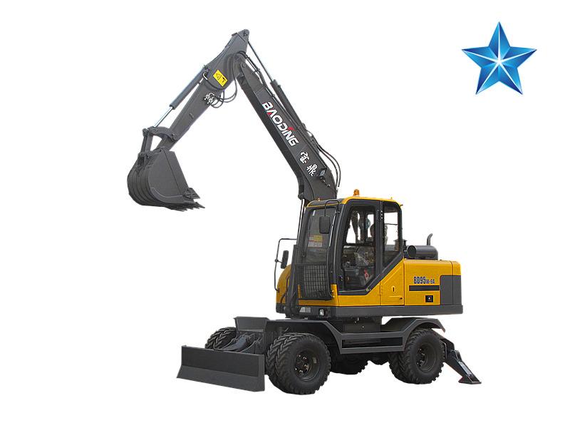 德甲下注BD95W升级款轮式挖掘机