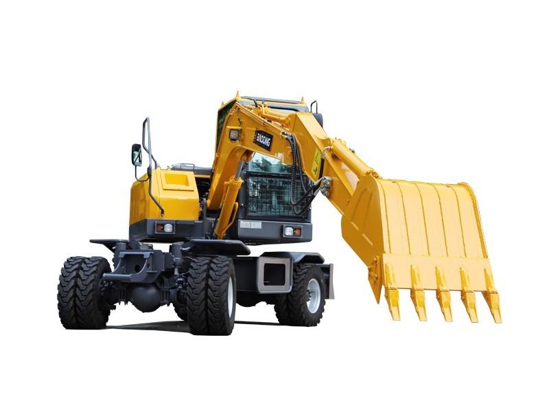 宝鼎BD80W-8A新款轮式挖掘机