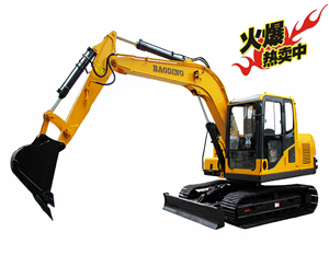 宝鼎小型履带90D-9挖掘机
