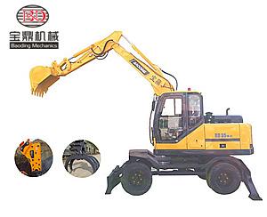 宝鼎轮式挖掘机95-9型号