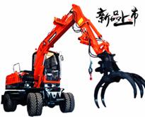 宝鼎BD80W-8轮式抓木机