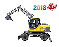 宝鼎新款BD95W-9A轮式挖掘机