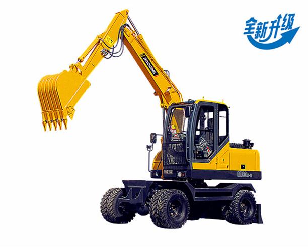 BD80W-8轮式挖掘机