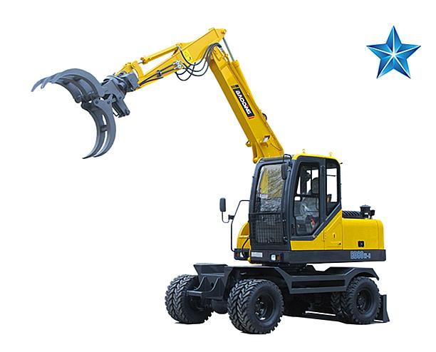 宝鼎BD80W-8改进型抓木机