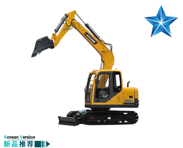 宝鼎BD80-8型号2019款挖掘机