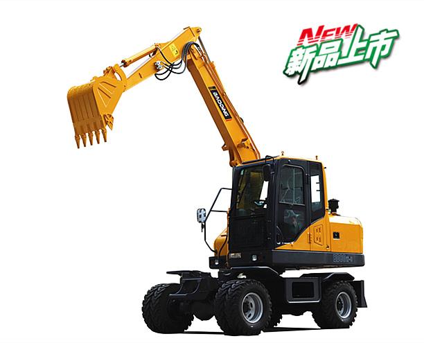 2019新款宝鼎BD80W轮式挖掘机