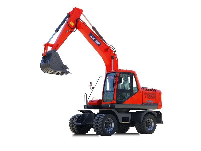 宝鼎BD150W-9C轮式挖掘机