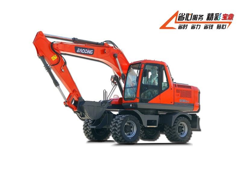 宝鼎BD150W-9G轮式挖掘机车型