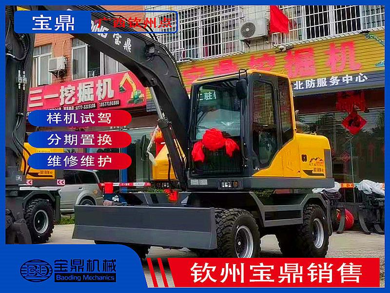 广西钦州挖掘机抓木机销售点